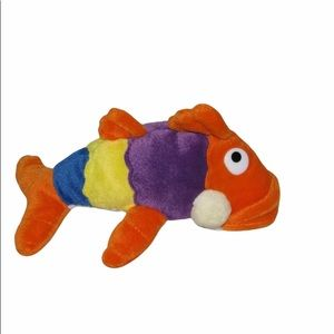 PETE The Perch The Fish Philosophy Plush Stuffed Toy Gift Excellent Pre-Owned